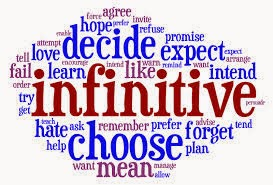 infinitives to