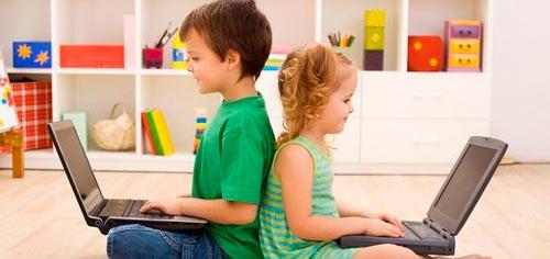 дети изучаю английский язык в Skype