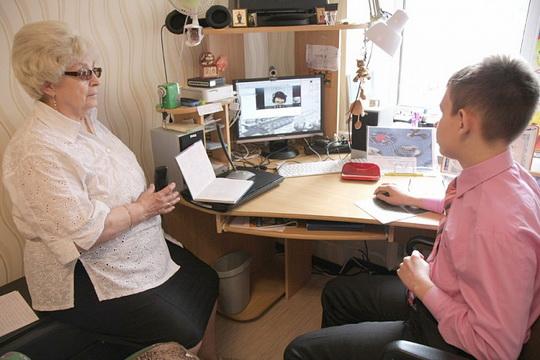 Пример урока английского языка в скайпе со школьником