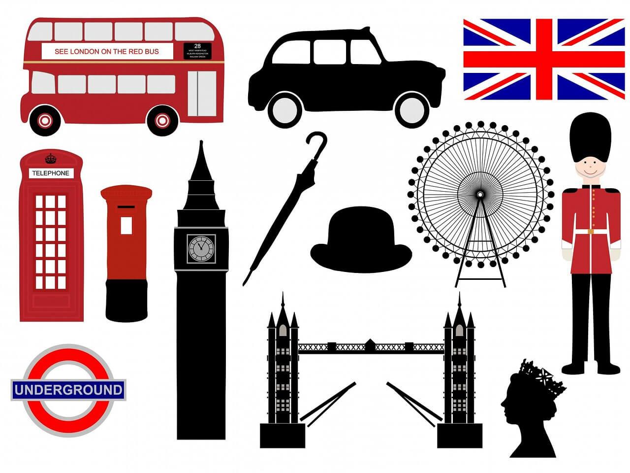 Символика англии в картинках